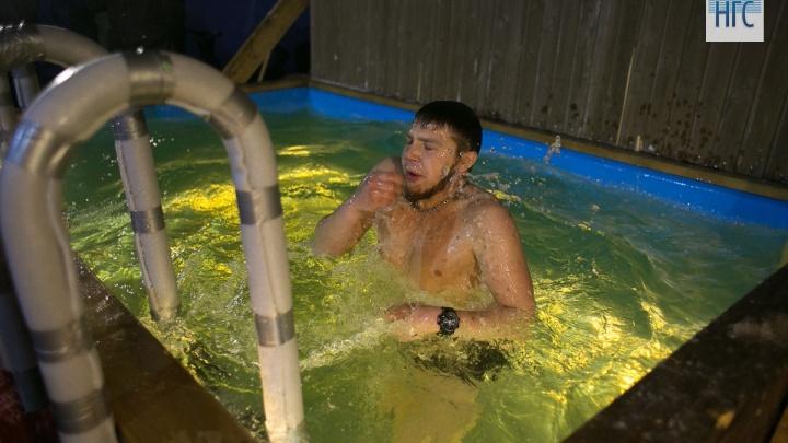 В Красноярске определены места для купелей на Крещение