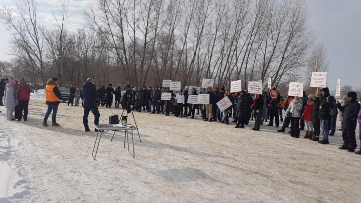 Тольятти, дыши! Жители автограда провели митинг противзагрязнения воздуха