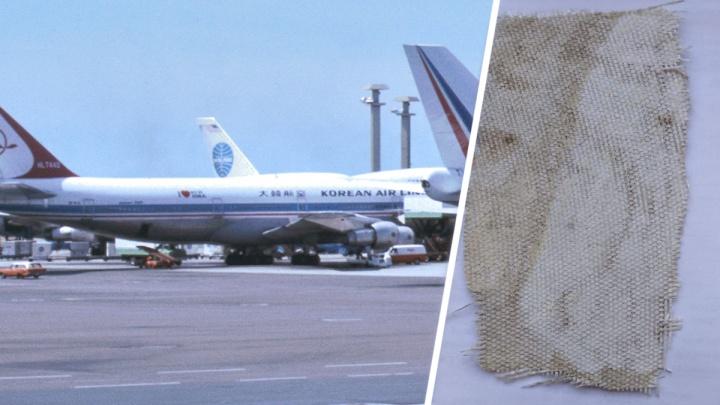 Оторвал кусок обшивки и просит за неё 100 тысяч: новосибирец заявил, что продаёт часть сбитого «Боинга»