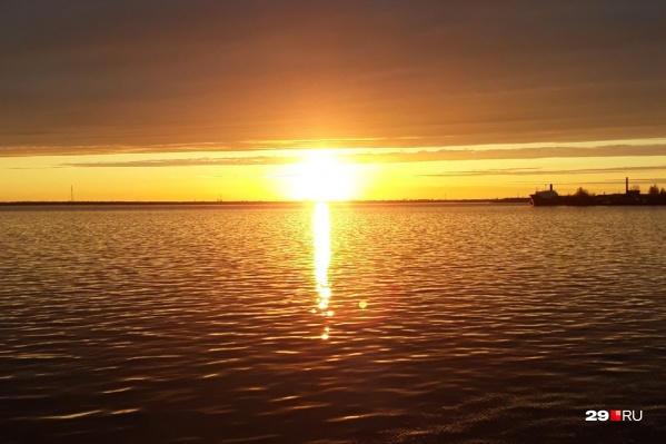 Река Северня Двина. Летний вариант