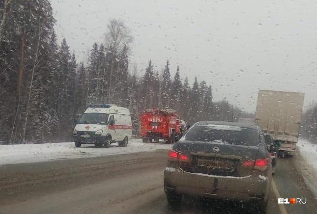 Авария произошла на трассе Пермь — Екатеринбург