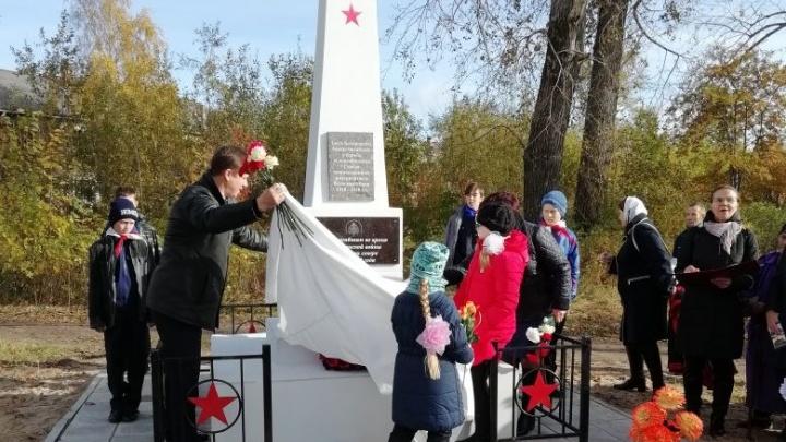 «Осводождение» и другие ляпы: на Кегострове за сотни тысяч с ошибками обновили памятник