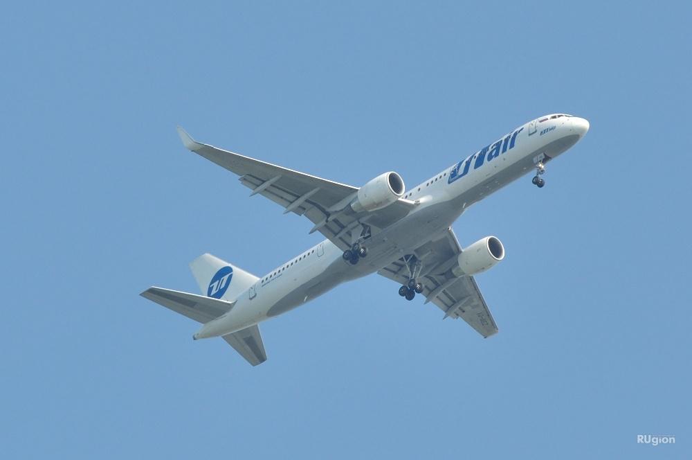 ЧП произошло с самолётом авиакомпанииUtair