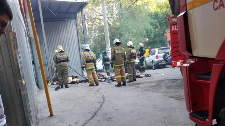 «Загорелись коробки на приемке»: в «Пятерочке» на Аэродромной произошел пожар