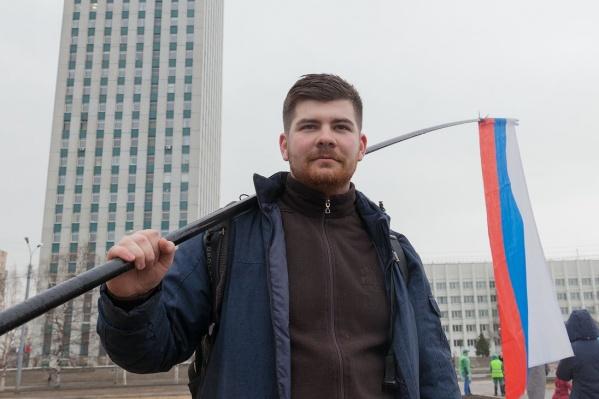Владислав Сивков стал 46-м оштрафованным человеком за акцию 7 апреля
