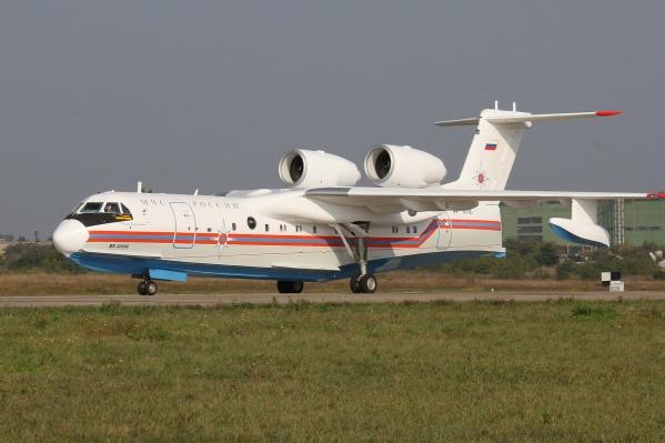 На данный момент у самолетов Бе-200 нет аналогов