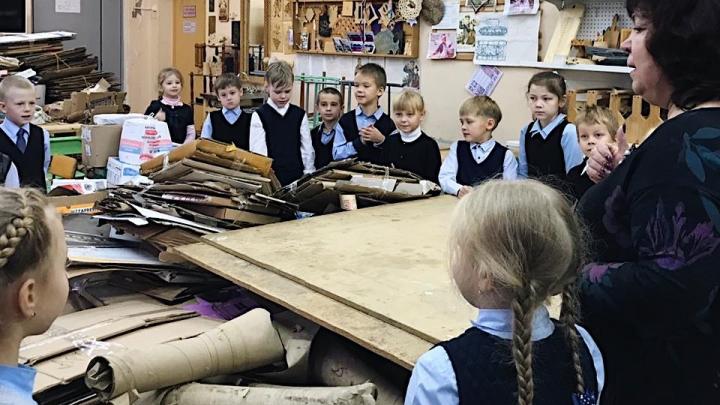 Спасли 132 дерева и сэкономили 260 тысяч литров воды: школьники Новодвинска собрали более 13 тонн макулатуры
