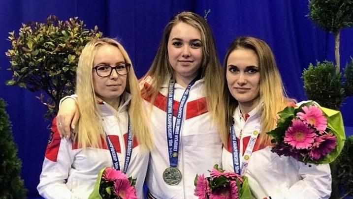Поморская спортсменка Дарья Вдовина стала чемпионом Европы пострельбе из пневматического оружия
