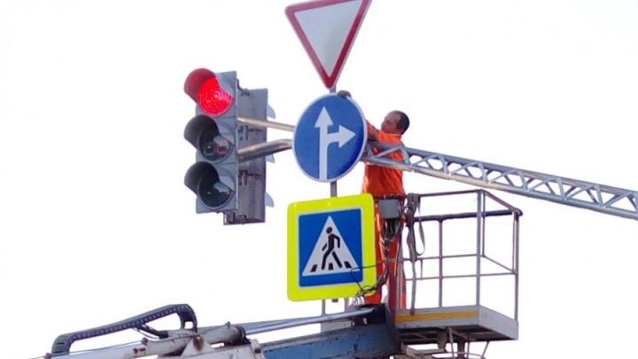 ГИБДД запретила левые повороты на двух улицах в Екатеринбурге