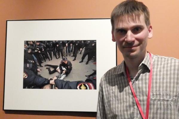 Артём Устюжанин на выставке лучших фото России