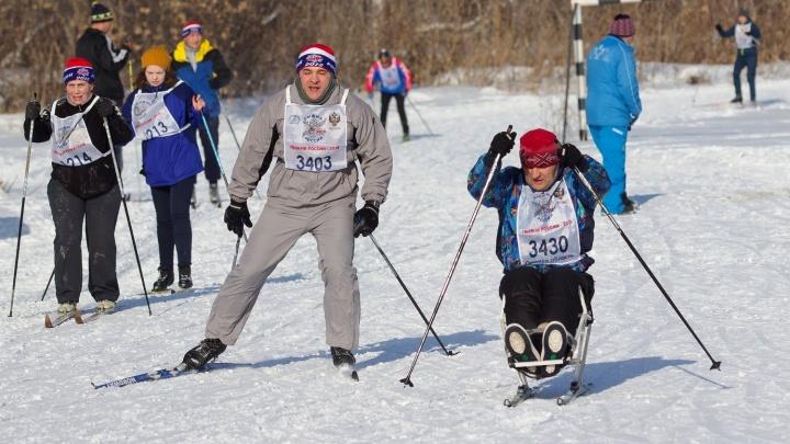 «Главное — победить себя»: как прошла «Лыжня России – 2018» в Омске