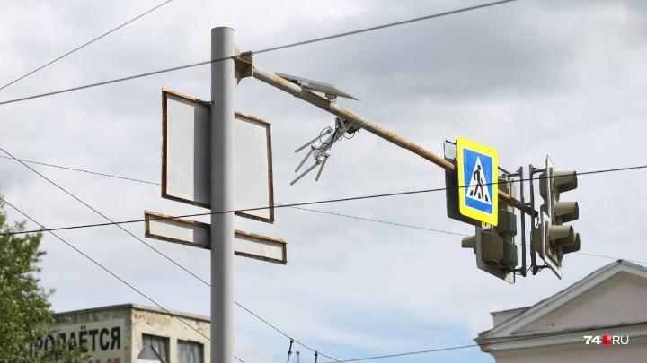 «В бюджете нет денег на выкуп»: в Челябинске начали снимать дорожные камеры