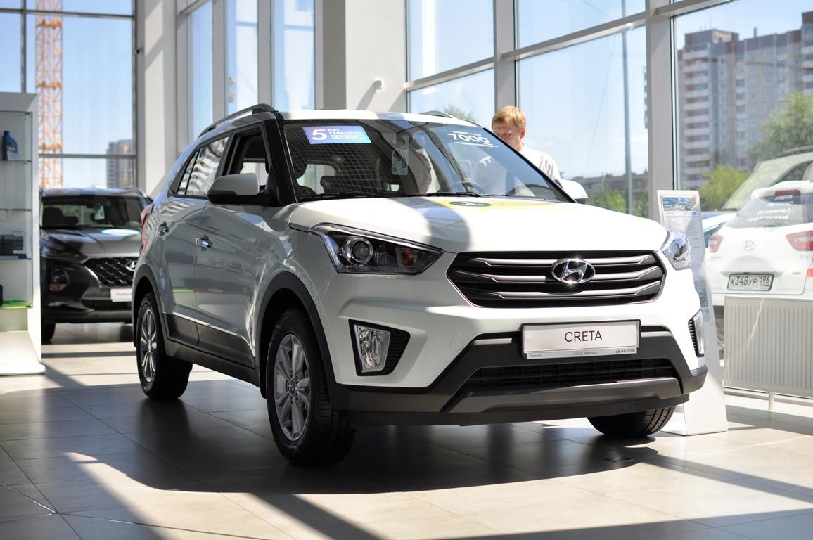 Hyundai Creta в наличии с выгодой до 150 000 рублей. Кредит от 0,1% или от 7000 руб./мес.