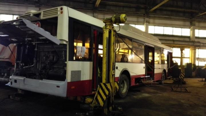 В истории с вывозом оборудования c автобусной базы в Челябинске поставили точку