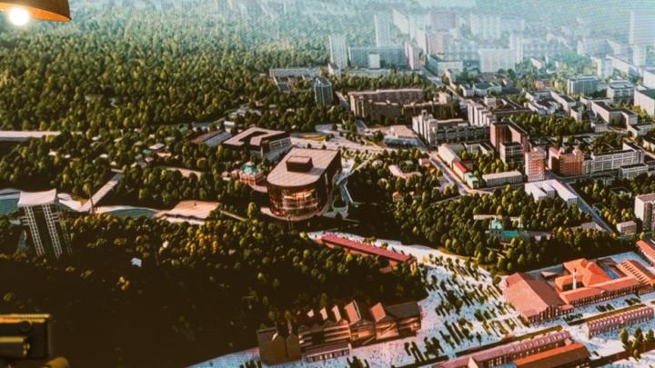 Виталию Мутко показали, как будет выглядеть новый пермский театр оперы и балета