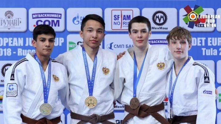 Екатеринбуржец стал бронзовым призером Кубка Европы по дзюдо среди кадетов