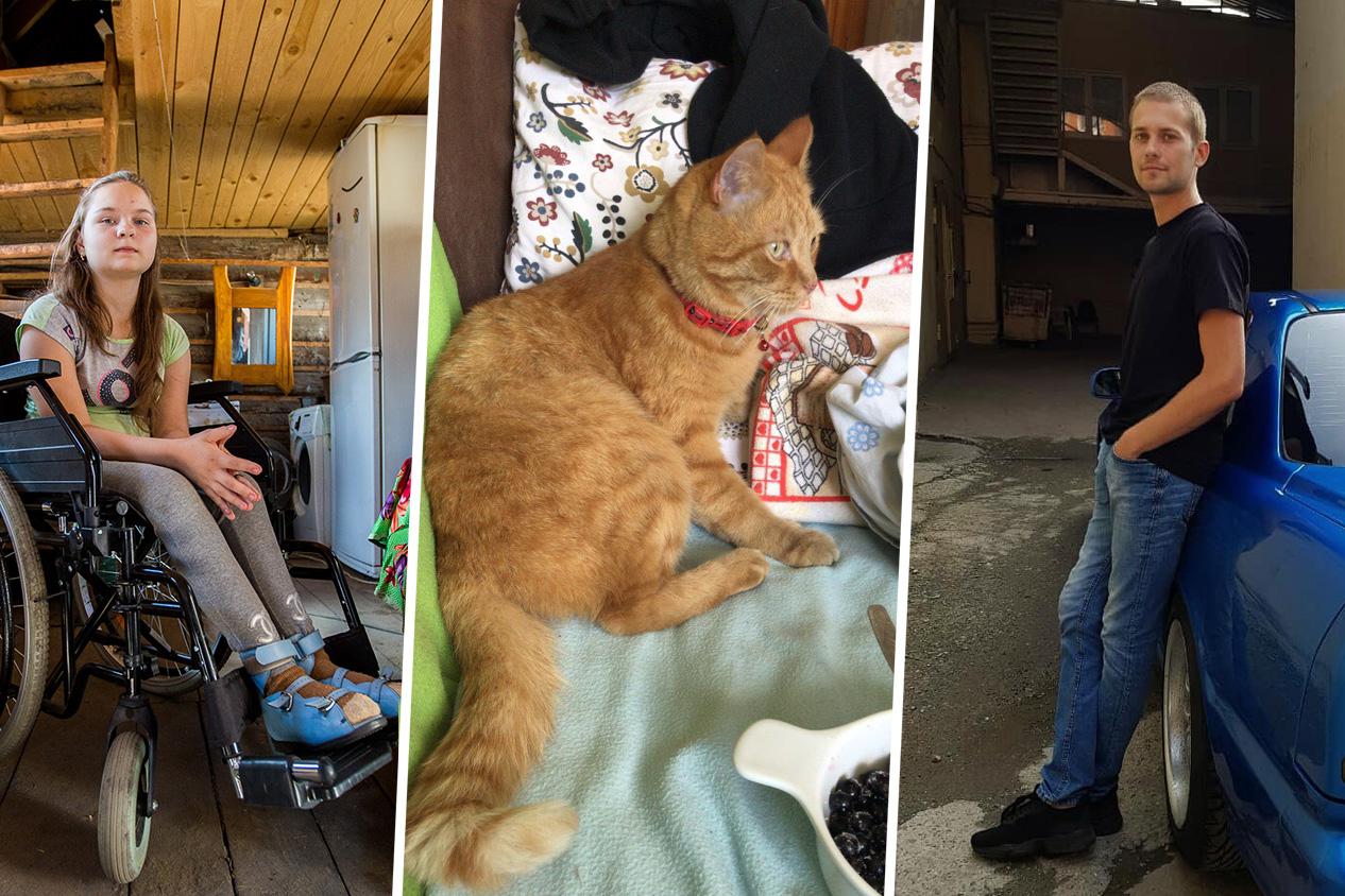 Погорельцы из Мошково, расправа над рыжим котом и клон Пола Уокера из Сибири — главное за неделю