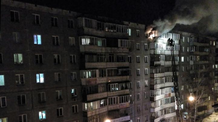 «Встал, отряхнулся и пошёл»: челябинец выпрыгнул с девятого этажа, спасаясь от пожара