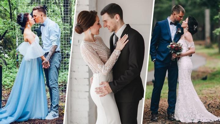 Белые кружева и блеск в глазах: 15 свадебных снимков северян, от которых не хочется отрывать взгляд