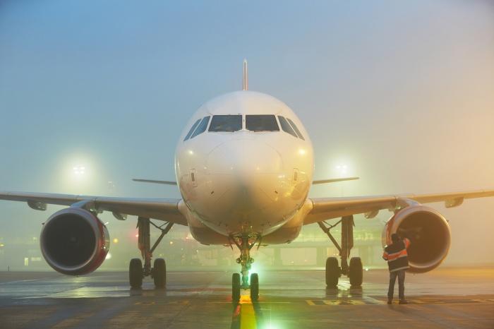 Туман помешал приземлиться шести самолётам в Кемерово