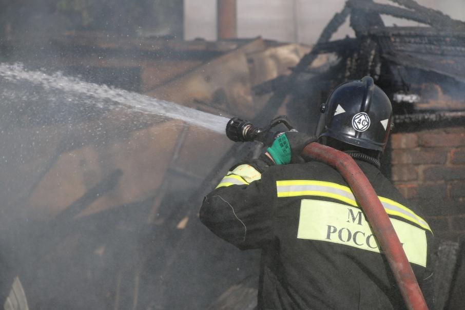 Вспыхнувший 21 августа пожар уничтожил несколько сотен ростовских домов