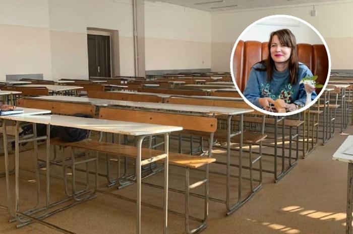 ИринаТебенева говорит, что преподаватели и студенты работают в ужасных условиях