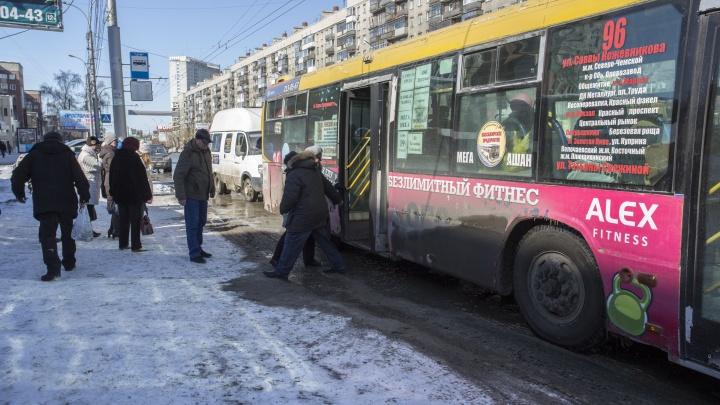 Жители Новосибирска похвалили работу автобусов и троллейбусов