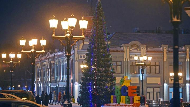 В центре Уфы 1 января перекроют улицы