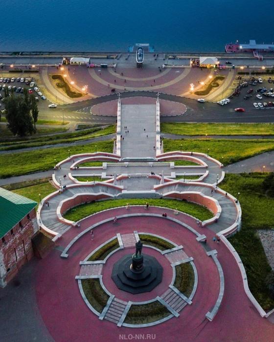 Летом Нижний Новгород особенно прекрасен