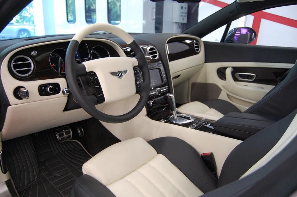 Салон Bentley Continental полностью перешили