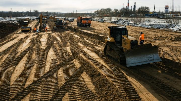 Из-за строительства Фрунзенского моста — 2 будут перекрывать дороги