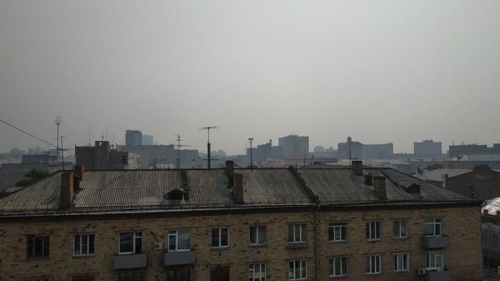 Роспотребнадзор проверил воздух с дымкой в Красноярске