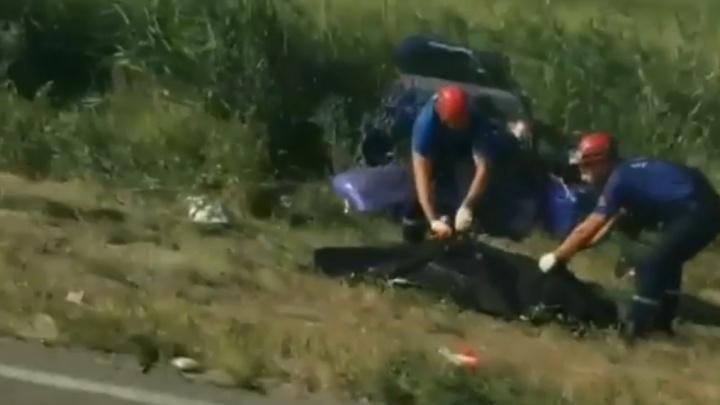 Лобовой удар: в аварии под Ростовом погиб человек