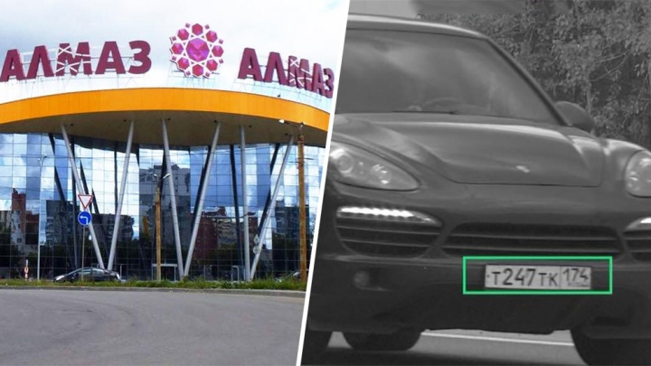 «Залезли прямо под камерами»: у челябинки угнали Porsche Cayenne со стоянки крупного ТРК