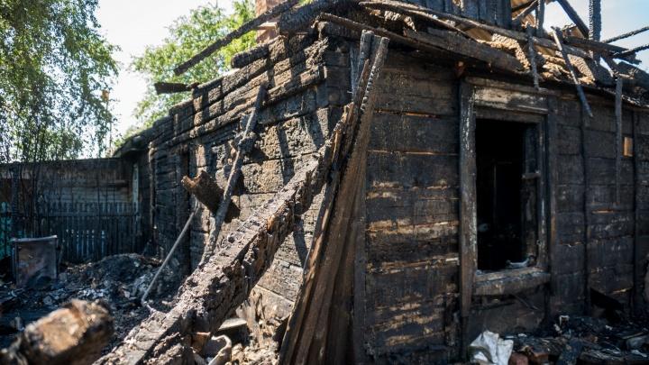 «Пожар начался с веранды»: глава МЧС назвал причину пожара в Целинном, в котором сгорели три ребёнка