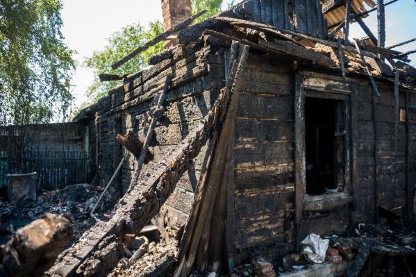 Пожар произошёл в ночь на 11 июля