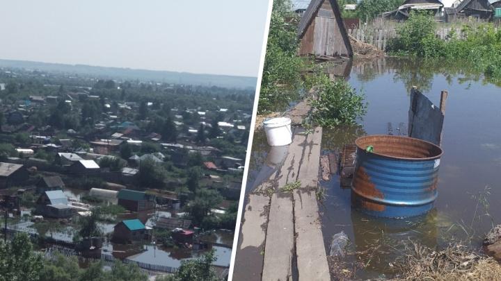 Вода идет на Канск. Как город переживает наводнение. Фото и видео