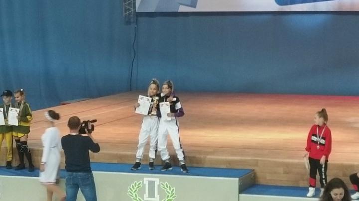 Курганский дуэт Twix завоевал кубок России на соревнованиях по фитнес-аэробике