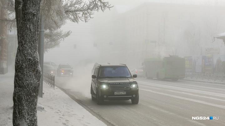 Сильный ветер накроет Красноярск в день визита Путина