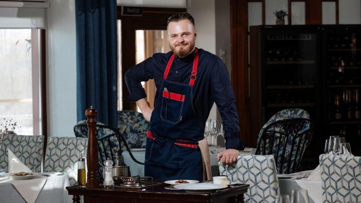 Один из лучших российских шеф-поваров — в ресторане «Сенкевич»