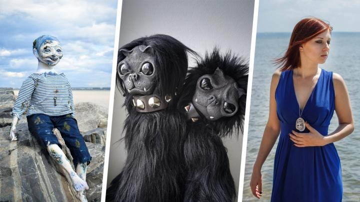 Марина и её чудовища: девушка-скульптор ушла из крематория и теперь делает адски милые куклы