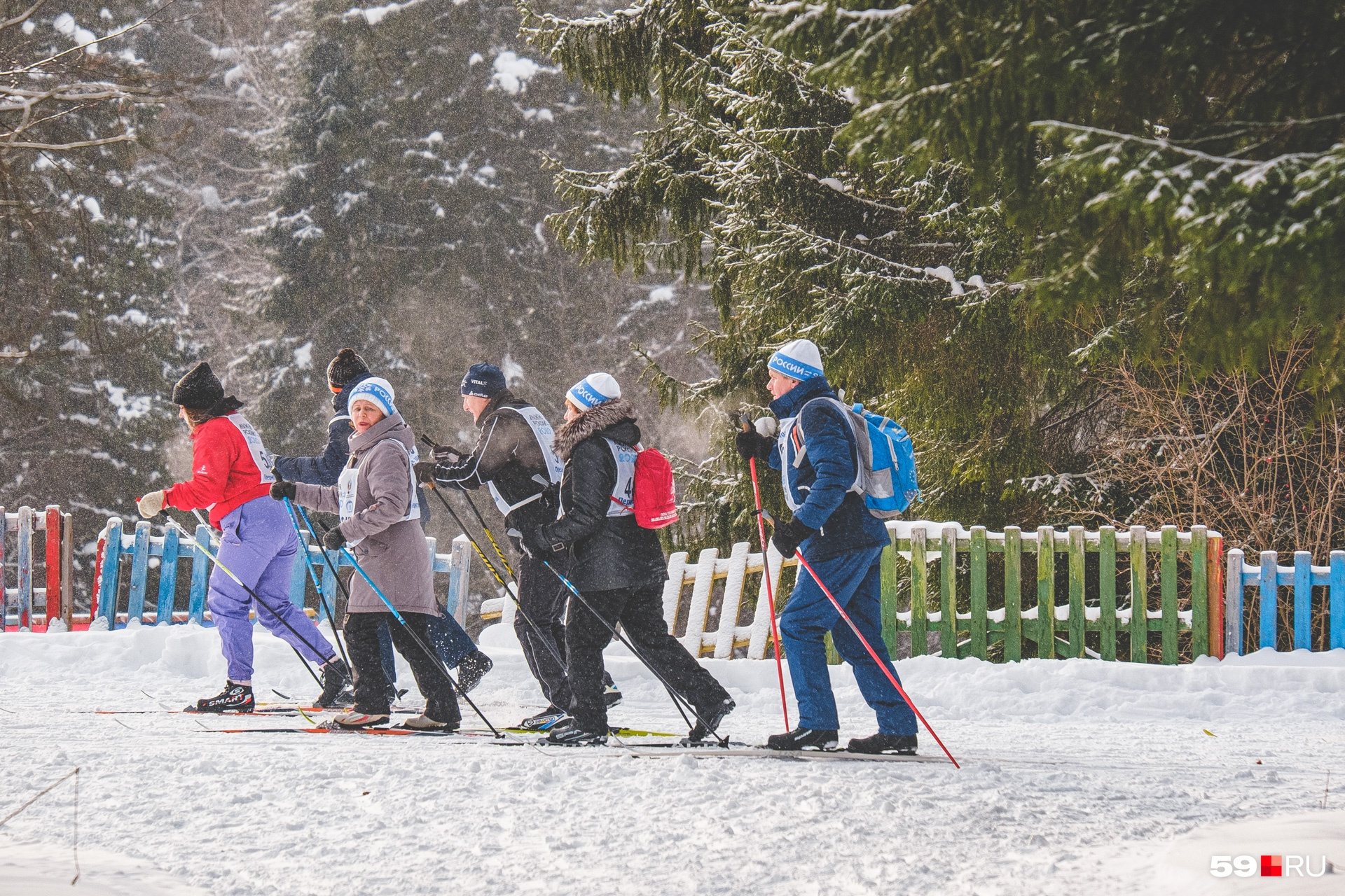 После лыжни