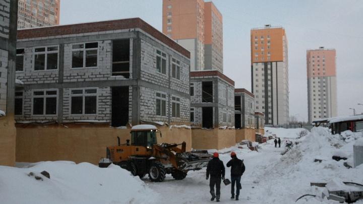 «Будет построен к 1 июля»: глава города проверил ход строительства детского сада на Бурнаковке