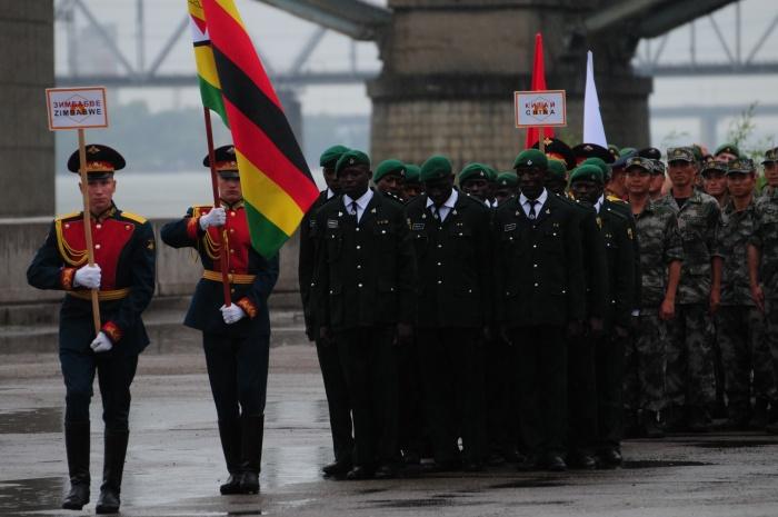 Разведчики из Зимбабве