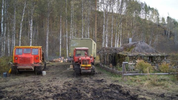 В Башкирии  разрушили исторический объект