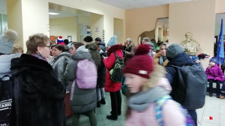 В Ярославле спецслужбы проверили все эвакуированные здания: результат. Фото и видео