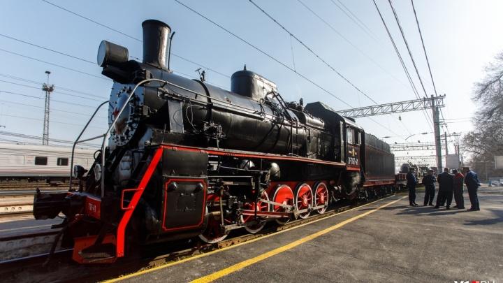 Задержала погода: прибытие «Воинского эшелона» в Волгоград откладывается