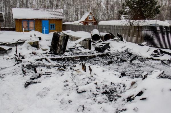 На пожаре погибли два ребёнка —младшему не было и года