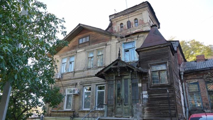 В центре Ростова планируют снести старинный дом с башней