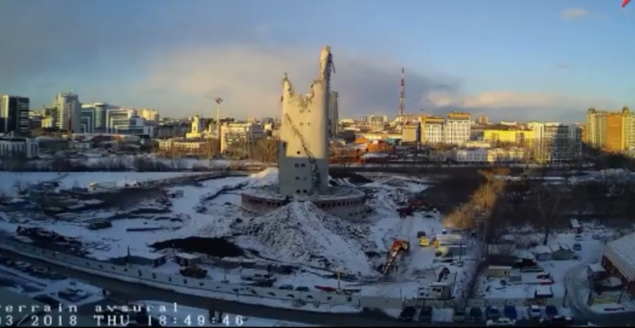 Граждане Екатеринбурга обсуждают салют натерритории телебашни